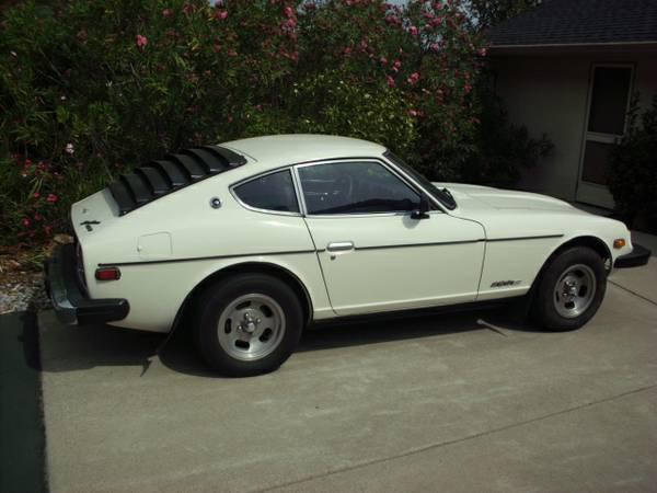 used 1976 datsun 280 zx for sale 5 900 at redding ca united car exchange. Black Bedroom Furniture Sets. Home Design Ideas