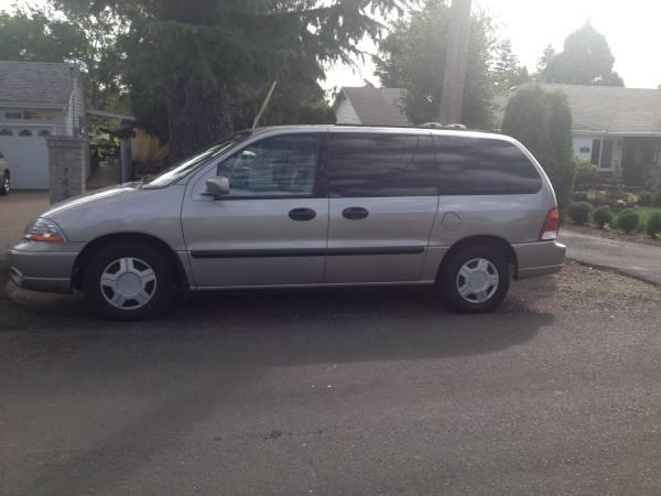 used 2003 ford windstar for sale 7 000 at clackamas or united car exchange. Black Bedroom Furniture Sets. Home Design Ideas